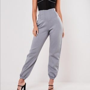 NWT Corset detail joggers